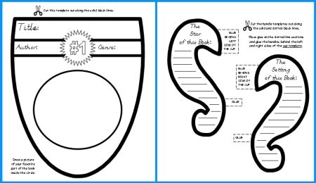 sample school report Printable Book Report Forms